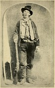 Rifles Posters - Billy The Kid 1859-81, Killed Twenty Poster by Everett