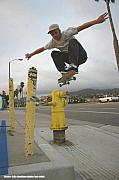 Skate Photo Originals - Billy Uber Hydrant by Ken  Volok