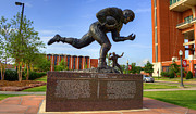 Heisman Art - Billy Vessels by Ricky Barnard