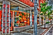 Glass Wall Digital Art - Billys Corner by Dan Stone