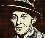 Bing Mixed Media - Bing Crosby by Otis Porritt