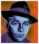 Bing Mixed Media - Bing Crosby Too by Otis Porritt