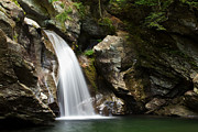 Vermont Wilderness Art - Bingham Falls Stowe Vermont by Stephanie McDowell