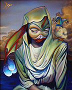 Jester Paintings - Binkys Mistress by Patrick Anthony Pierson