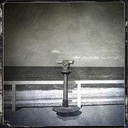 Seashore Metal Prints - Binocular Metal Print by Bernard Jaubert