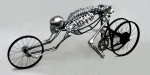 Bicycle Art Sculptures - Bio Cycle by Jud  Turner