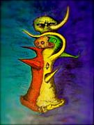 Biohazard  Voodoo Print by Raul Morales