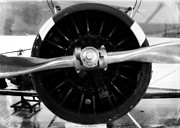 Biplane Photos - Biplane Propeller by Matt Hanson
