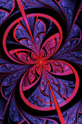 Fractal Flame Prints - Bipolar Print by John Edwards
