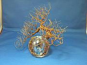 Globe Sculptures - Birch Blaze by Carter Stratton