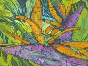 Bird Tapestries - Textiles Prints - Bird of Paradise I Print by Kay Shaffer