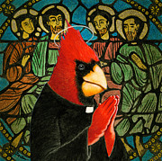 Wildlife Tapestries - Textiles Posters - Bird of Pray... Poster by Will Bullas