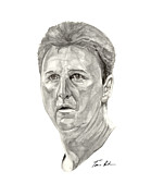 Larry Bird Metal Prints - Bird Metal Print by Tamir Barkan