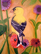 Yellow - Bird Watching by Melanie Wadman