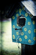 Hand Crafted Art - Birdhouse Memories by Robin Lewis