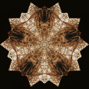 Kaleidoscope Art - Birdnest by Gayle Johnson
