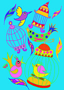 Lynnda Rakos - Birds and birdcages