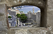 Dubrovnik Photos - Birds Eye View of Dubrovnik by Madeline Ellis
