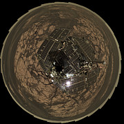 Astrogeology Photos - Birds-eye View Of Opportunity At Erebus by Stocktrek Images