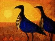 Composing Digital Art - Birds of Africa by Ann Croon
