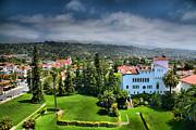 Birdseye View Of Santa Barbara I Print by Steven Ainsworth