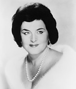 Soprano Framed Prints - Birgit Nilsson 1918-2005, Swedish Framed Print by Everett