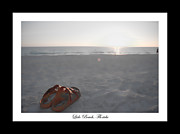 Lido Prints - Birks on the Beach Print by Betsy A Cutler East Coast Barrier Islands