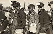 Great Depression Prints - Birmingham Alabama Coal Miners Print by Everett