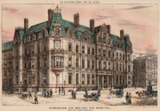 Victorian Architecture Prints - Birmingham and Midland Eye Hospital United Kingdom 1882 Print by Payne and Talbot