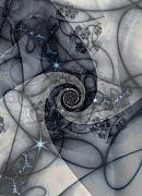 Spiral Digital Art - Birth of an Idea by David April