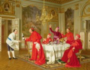 Cardinals Prints - Birthday Print by Andrea Landini