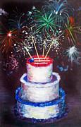 Birthday In America Print by Ann Marie Napoli