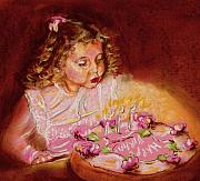 Candles Pastels - Birthday Wish by Yvonne Ayoub