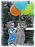 Manley Photo Prints - Birthdays Print by Joan  Minchak