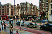 Tilt Shift Framed Prints - Bishopsgate Framed Print by Heather Applegate