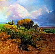 Bison Originals - Bison Bluff by Robert Carver