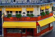 Paris Digital Art Originals - Bistrot du Dome by John Galbo
