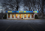 Wichita Ks Posters - Bite Me BBQ Poster by Fred Lassmann