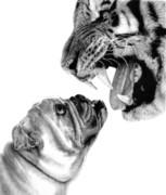 Bite Me Print by Carole Raschella