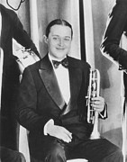 Jazz Band Art - Bix Beiderbecke, At The Club New by Everett