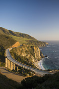 The Main Art - Bixby Bridge And Highway 1 by Greg Probst