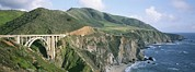 Ocean Scenes Prints - Bixby Bridge Over Bixby Creek Print by Rich Reid