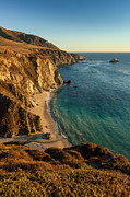 Featured Art - Bixby Cove, Big Sur At Sunset by Jason Harris