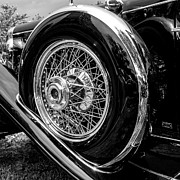Black And Chrome Print by Ralph Brannan