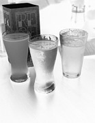 Beer Photo Originals - Black and White Craft Beer by Andrea Kellner