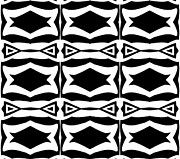 Op Art Digital Art Posters - Black and White Pattern Art No.305. Poster by Drinka Mercep
