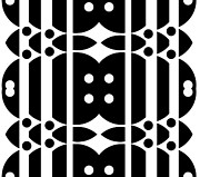 Op Art Digital Art Posters - Black and White Pattern Art No.323. Poster by Drinka Mercep