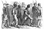 Arrest Prints - Black Codes, 1864 Print by Granger
