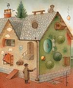 Superstition Prints - Black Day Print by Kestutis Kasparavicius