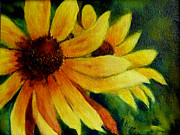 Black Eyed Susan Print Paintings - Black Eyed Susan by Alexandra Kopp